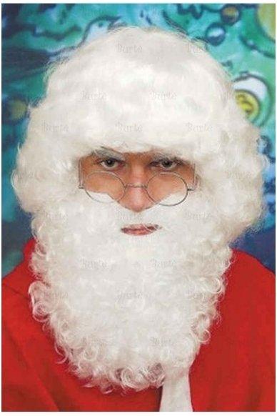 Kalėdų Senelio perukas ir barzda