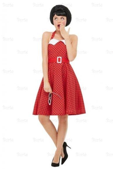 50-ųjų stiliaus suknelė 2