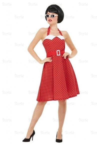 50-ųjų stiliaus suknelė