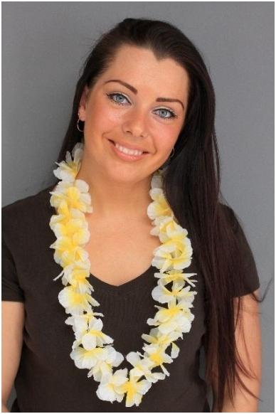 Havajietiška girlianda 9