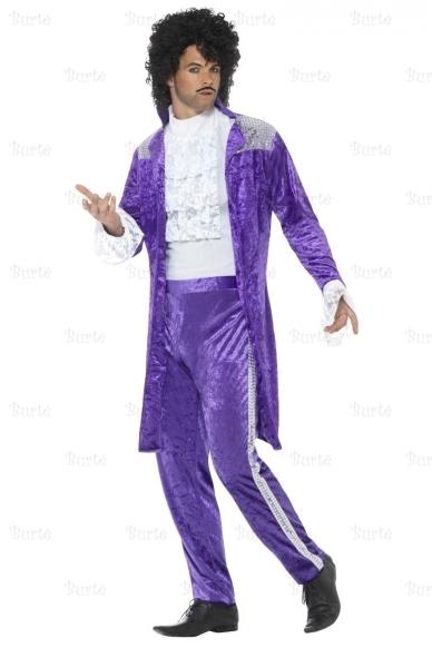 80s Purple Musician Costume 2