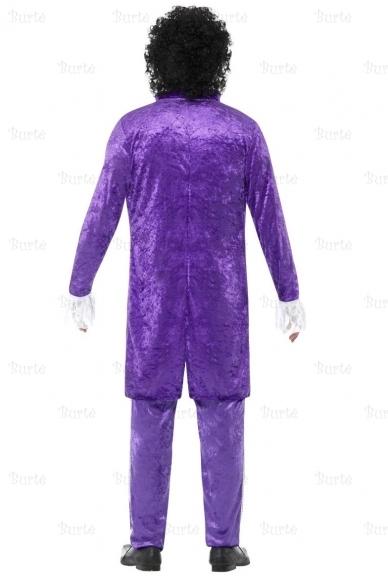 80s Purple Musician Costume 3