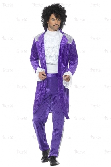80-ųjų muzikanto kostiumas