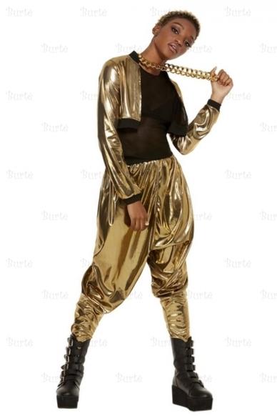 80-ųjų reperės kostiumas