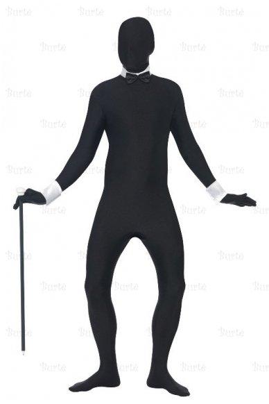 Antros odos juodas kostiumas 4