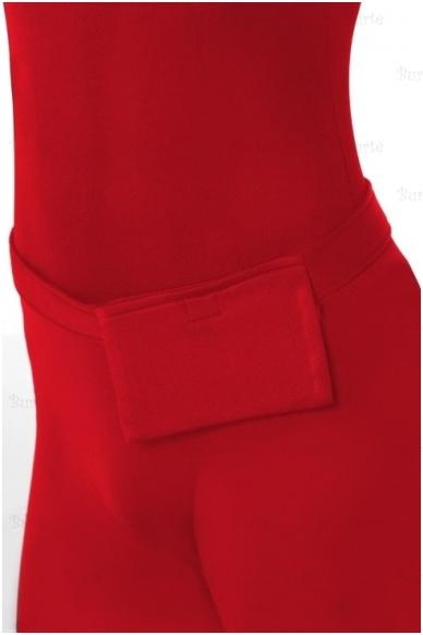 Antros odos raudonas kostiumas 3