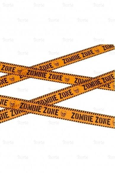 "Aptvėrimo juosta ""Zombių zona"""