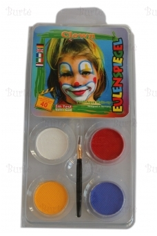 "Aqua Kids make up set ""Clown"""
