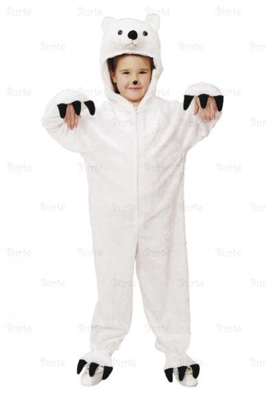 Baltosios meškos kostiumas