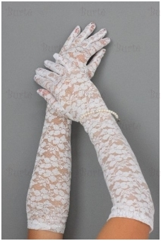 Guipure gloves