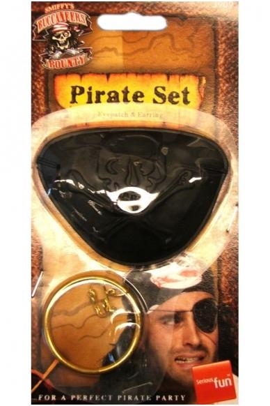 Pirato auskaras ir akies uždengimas 2