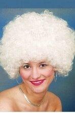 Baltas disko perukas