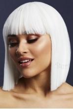 Baltos spalvos perukas Lola