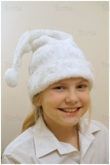 Balta nykštuko (ledinuko) kepurė