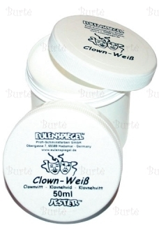 White Clown Make-Up
