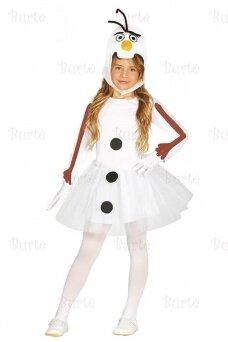 Snowman girls costume