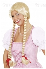 Blonde plaits