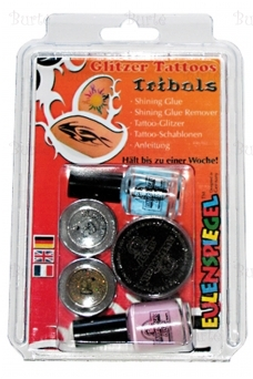 "Glitter tattoos ""Tribals"""