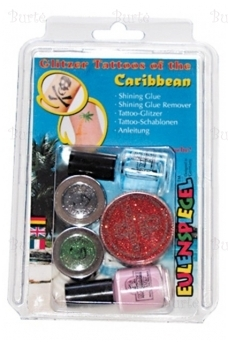 """Glitter tattoos """"Caribbean"""""""