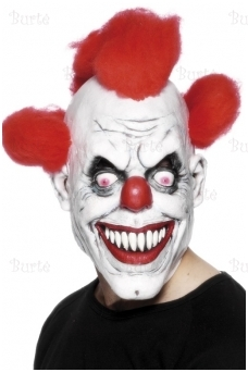 Bad Clown Latex Mask