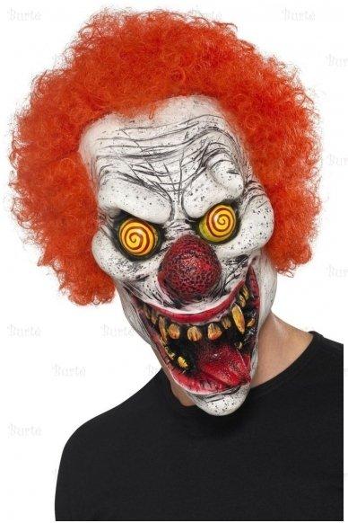 Blogojo klouno kaukė