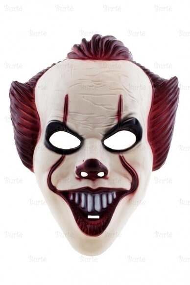 Blogojo klouno kaukė 2