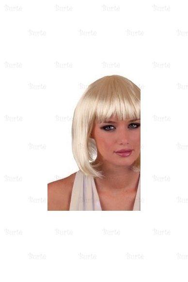 Blondinės kare perukas 2