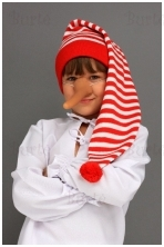Buratino kepurė
