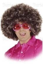Disco wig, brown