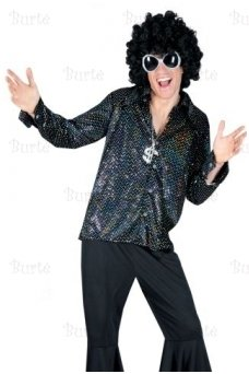 Disco shirt, black