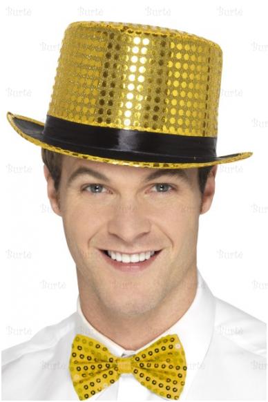 Disko cilindras, auksinis