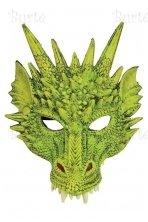 Drakono kaukė, žalia