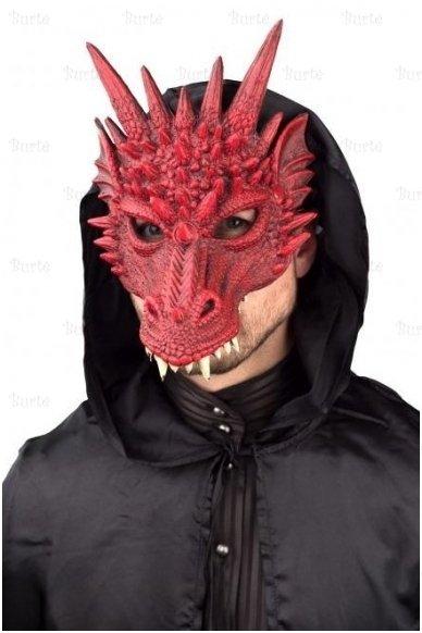 Drakono kaukė, raudona