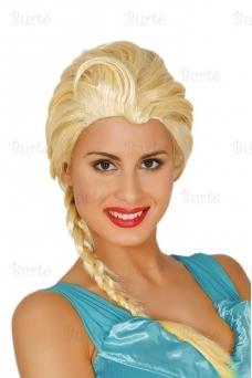 Ice princess wig