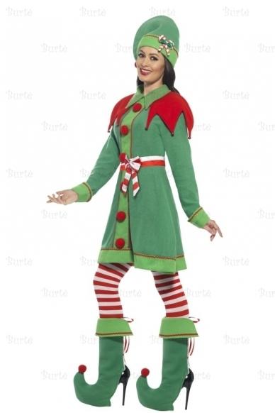 Deluxe Miss Elf Costume 2