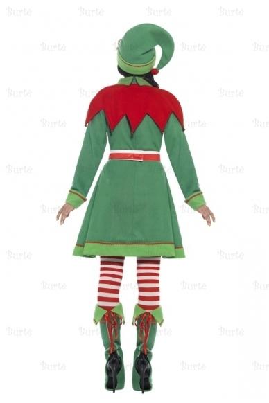 Deluxe Miss Elf Costume 3