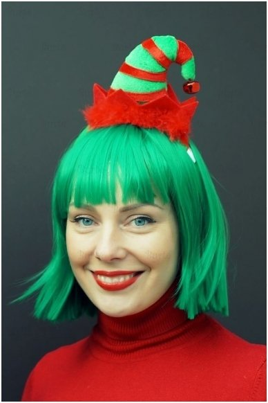 Elfo kepurė su lankeliu