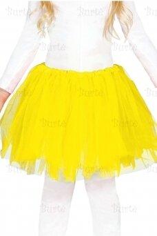 Geltonas sijonas (vaikams)