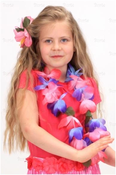 Havajietiška gėlė į plaukus 3