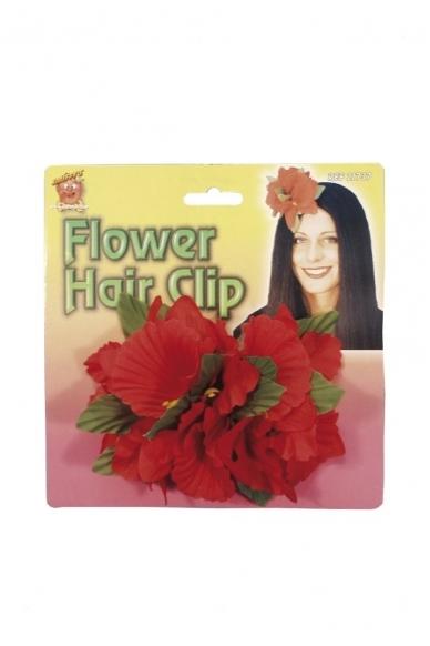Havajietiška gėlė į plaukus 2