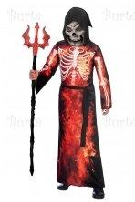 Child Costume Fire Reaper