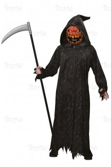Pumpkin Reaper Boy Costume
