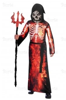 Child Costume Fire Reaper