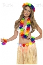 Rainbow Hawaiian Set