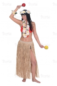 Havajietiškas sijonas 70 cm