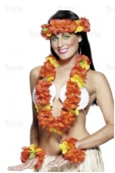 Havajietiškas girliandų rinkinys