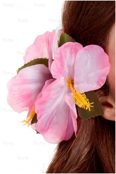 Havajietiška gėlė į plaukus