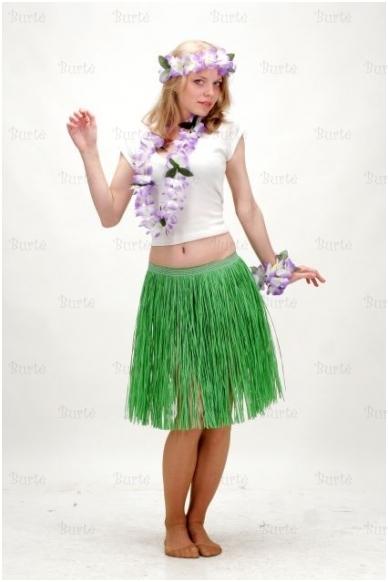 Havajietiškas sijonas 50 cm