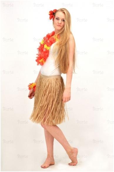 Havajietiškas sijonas, 50 cm