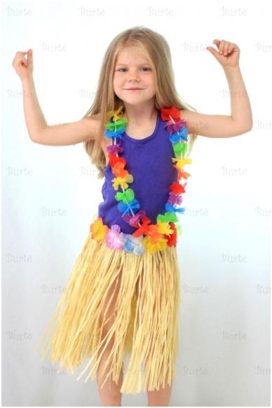 Havajietiškas sijonas, vaikams 2